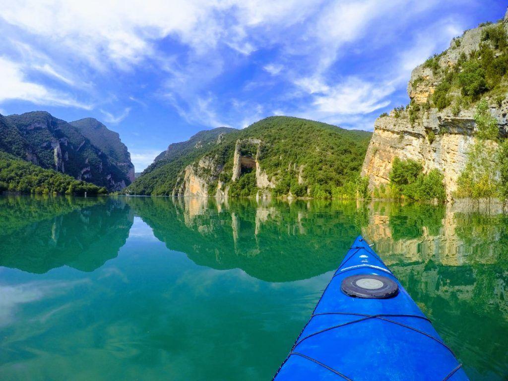 kayak congost de mont rebei
